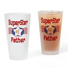 Superstar Father Pint Glass