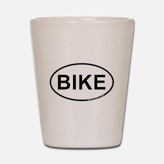 Bike Shot Glass