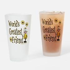Friend Bumble Bee Pint Glass