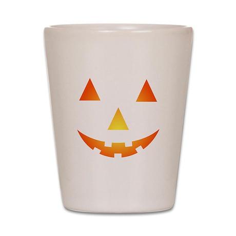 Halloween Pumpkin Shot Glass