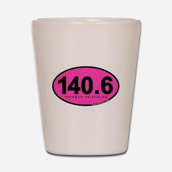 140.6 Ironman Triathlon Shot Glass