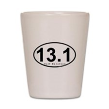 Half Marathon 13.1 miles Shot Glass