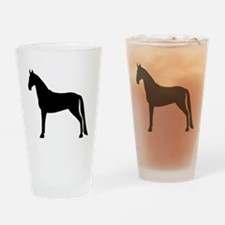 Tennessee Walking Horse Pint Glass