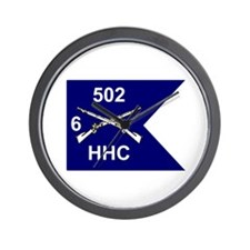 HHC 6/502nd Wall Clock