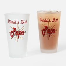 Starburst Papa Pint Glass