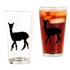 Strolling Alpaca Pint Glass
