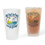 Bunny, Duck and Boat Pint Glass