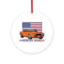 American Muscle Camaro Ornament (Round)
