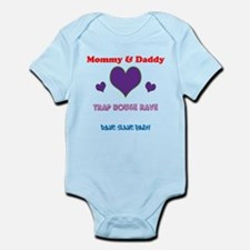 Unique Baby and house music Infant Bodysuit