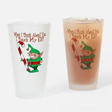 Touch My Elf Pint Glass