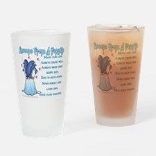Penguin Lessons Pint Glass