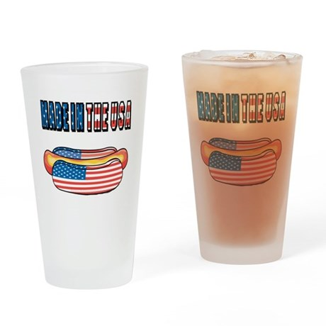 Made in the USA Pint Glass
