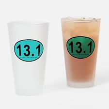 Half Marathon 13.1 Miles Pint Glass