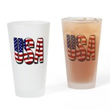 U.S.A. Pint Glass