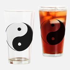 Chinese Yin Tang Pint Glass