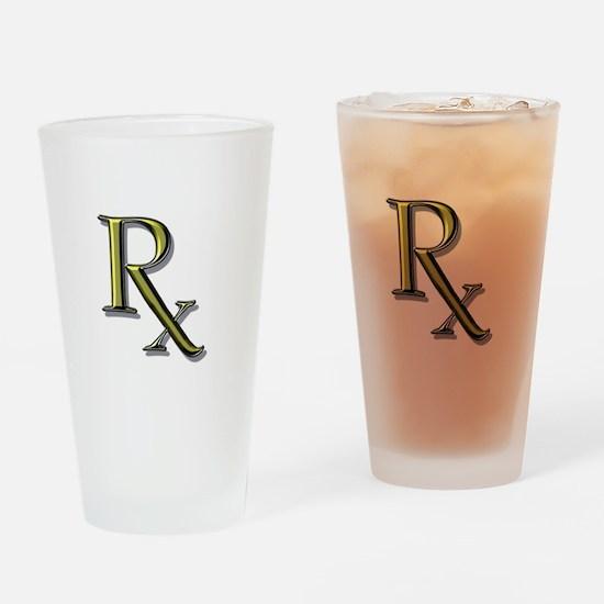 Pharmacy Rx Pint Glass
