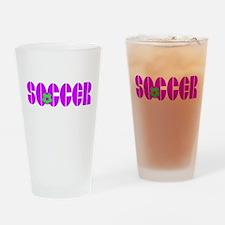 Soccer Chic Pint Glass