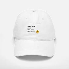 Winter & Construction Baseball Baseball Cap
