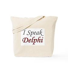 """""""I Speak Delphi"""" Tote Bag"""