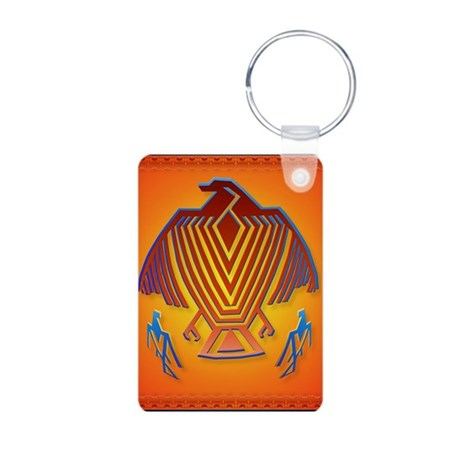 Big Thunderbird Aluminum Photo Keychain