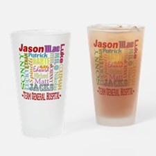 Team General Hospital Pint Glass