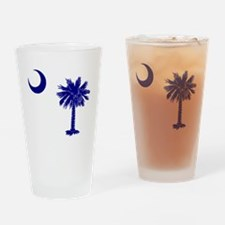 Palmetto and Crescent Pint Glass