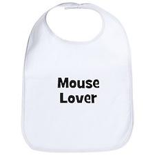 Mouse Lover Bib
