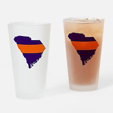 South Carolina Map Pint Glass