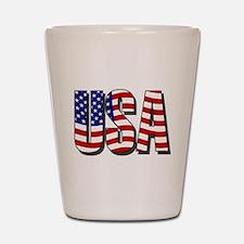 U.S.A. Shot Glass