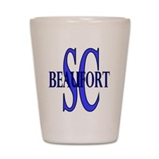 Beaufort South Carolina Shot Glass
