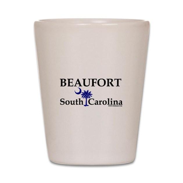 Beaufort South Carolina Shot Glass By Scgear