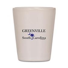 Greenville South Carolina Shot Glass