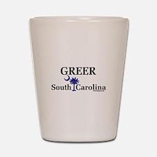 Greer South Carolina Shot Glass