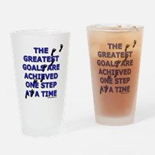 One Step at a Time Pint Glass