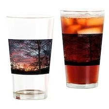 Sunrise Pint Glass