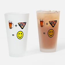 Beer + Pool Pint Glass