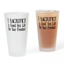 I Sacrifice Pint Glass