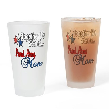 Proud Army Mom Pint Glass