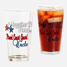 Proud Coast Guard Uncle Pint Glass