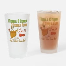 Tequila 25th Pint Glass