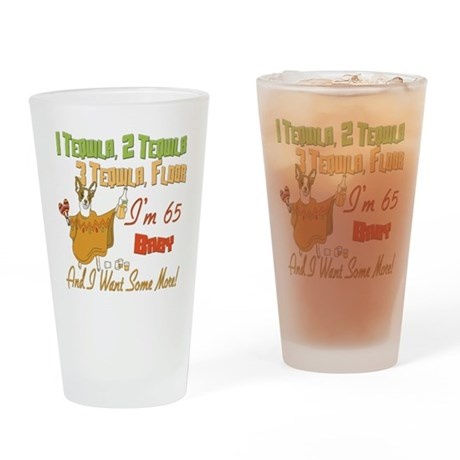 Tequila 65th Pint Glass