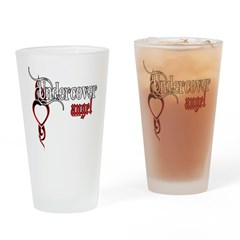 Undercover Angel Pint Glass