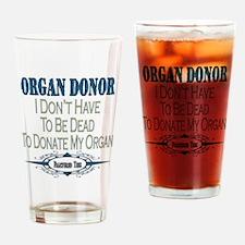 Organ Donor Pint Glass