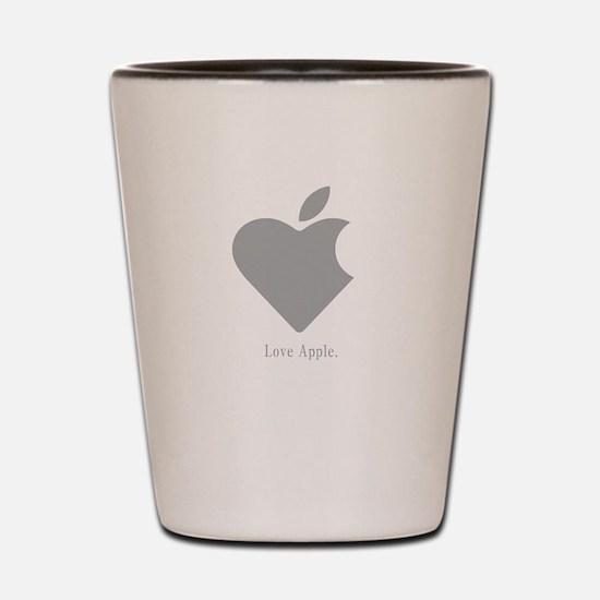 Love Apple Shot Glass