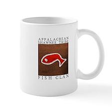 Fish Clan Brown Mug