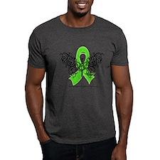 Non-Hodgkin's Lymphoma Tribal T-Shirt