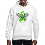 Non-Hodgkin's Lymphoma Tribal Hooded Sweatshirt