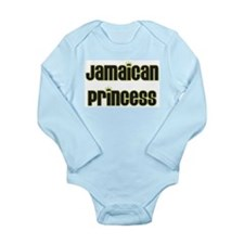 jamaican princess Long Sleeve Infant Bodysuit
