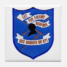 USS DAMATO Tile Coaster