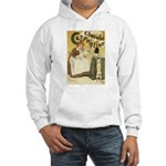 Carpentier Chocolate 1895 Classic Poster Hooded Sw